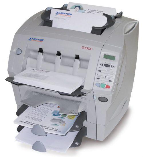 Kuvertiermaschine HEFTER SI1000