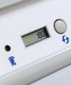 Elektrischer Brieföffner Hefter OL 750 Anzeige