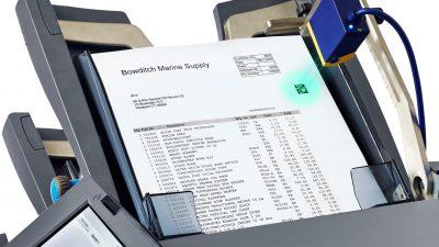 HEFTER Kuvertiermaschine SI3700 2D Code Lesung