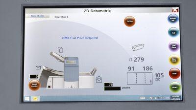 HEFTER Kuvertiermaschine SI3700 Touchscreen
