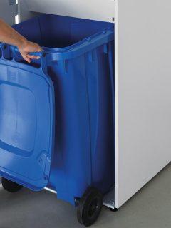 IDEAL 2604 JUMBO mit blauer Tonne