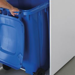 IDEAL 3105 JUMBO mit blauer Tonne