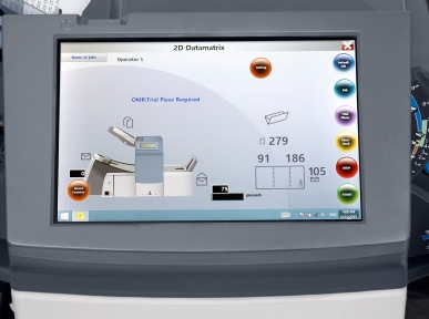 Kuvertiermaschine SI 3700 Touchscreen
