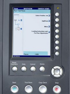 Kuvertiersystem HEFTER SI 5250 Display