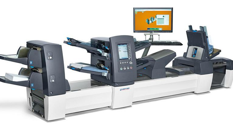 Kuvertiersystem HEFTER SI 5450