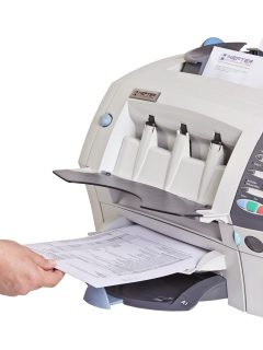 Kuvertiermaschine SI 1050 im Einsatz